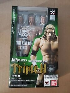 Triple H HHH WWE SH Figuarts  Figure The King of Kings Bandai FREE SHIP!