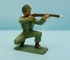W14/087 STARLUX / ARMEE MODERNE / COMBATTANT / TIRANT FUSIL A GENOUX 1/32 60 MM