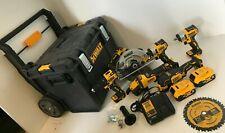 Dewalt DCKTS600M2 20-Volt MAX Cordless Brushless Combo Kit (6-Tool), GR