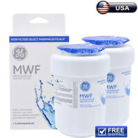 2Pack GE MWF SmartWater MWFP GWF HWF WF28 46-9991 Fridge Water Filter New Sealed