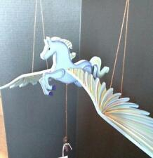 Flying Lg Blue Pegasus Mobile Hand Painted Colombia Fair Trade Graceful Movement