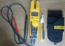 FLUKE T5-1000 Voltage Continuity Current Electrical Tester w/Holster & Volt Pen