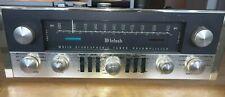Mcintosh Mx110 tube tuner preamplifier, Telefunken tubes, with Og manual.