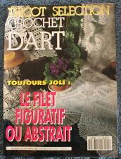 Tricot Sélection CROCHET D'ART - n°195 de 1994