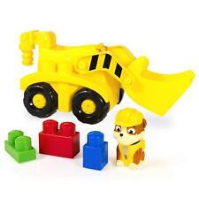 Paw Patrol Ionix Rubble Bullldozer Block Set Truck