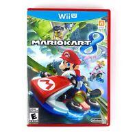 Mario Kart 8 (Nintendo Wii U, 2014) Complete Tested Working Free Shipping CIB
