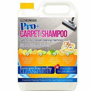 Carpet Shampoo Cleaning Solution 5L Pet Odour Deodoriser Upholstery Cleaner Vax