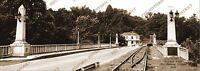 Fort Benning, GA Betjeman Bridge 1949 Historic Photo Reprint 5x14 FREE SHIPPING!