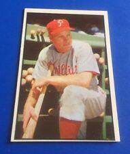 1953 Bowman Color Richie Ashburn Phladelphia Phillies Baseball Card NM