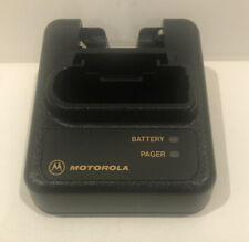 Motorola Minitor Iii Iv Fire Ems Pager Std. Charger Base Only, Tested & Clean