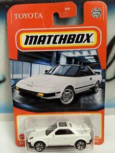 Matchbox 1:64 1984 Toyota MR2
