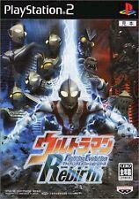 PS2 Ultraman Fighting Evolution Rebirth Japan F/S