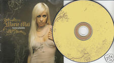 MARIE MAI Inoxydable (CD 2004) 13 Songs Pop Chanson Quebec French