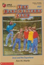 The Baby-Sitters Club #27: Jessi and the Superbrat by Ann M. Martin : VERY GOOD+