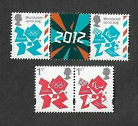 Great Britain-Paralympics-booklet stamps gummed set of 4- mnh