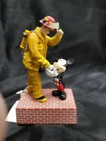 《Rare》 Mickey Mouse and Fireman Figurine