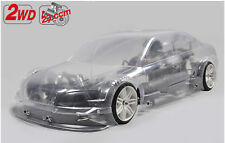 FG Modellsport New Sportsline 2WD Audi A4 DTM 23 ccm unlackiert NON RTR # 164149