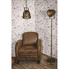 Lámpara de Pie Foco Estilo Vintage y Retro Lámpara de Salón Altura regulable