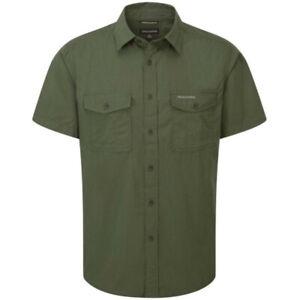 Craghoppers Outdoor Classic Mens Kiwi Short Sleeve Shirt CG181