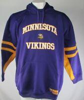 Minnesota Vikings NFL Men's Big & Tall Purple Pullover Hoodie 4XL 5XL 6XL