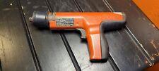 Hilti Dx35 Powder Actuated Concretesteel Nail Gun