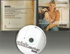 Backstreet Boys NICK CARTER Help me 2002 Rare USA PROMO Radio DJ CD Single MINT