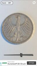 5 DM Silberadler 1965 F  Erhaltung !! siehe Originalfotos