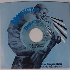 GENERAL JOHNSON: I'm In Love Darling INVICTUS Funk 45 NM Stock