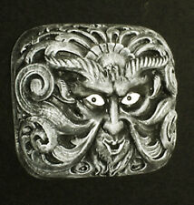 "HAUNTED Gothic Satyr Devil Wall Bust ""EYES FOLLOW YOU"" House Mansion"