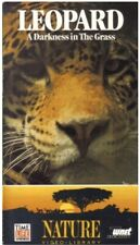 NEW National Geographic Video - Leopard: A Darkness In The Grass (VHS 1988) RARE