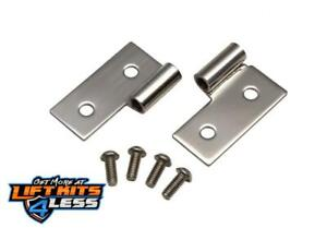 Kentrol 30407 Lower Door Hinge Pair for 1976-1983 Jeep CJ-5