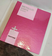 New Pantone Plus Metallic Chips Coated Color Book Gb1507 Preowned