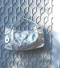 Handbag Evening Bag Party Sequins Shoulder Bag Gold Silver