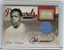 2010 PANINI CENTURY COLLECTION #1 ANDRE DAWSON AUTOGRAPH JERSEY SP #50/50, EXPOS