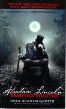 Seth Grahame-Smith  Abraham Lincoln Vampire Hunter  Horror   Pbk NEW