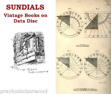 Sundials Collection of 15 Vintage Sundial Books on Disc History & Science