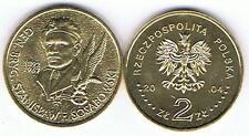 General Sosabowski 2004 2 Zl Muenze Nordic Gold Bfr,