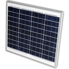 Solarpanel Solarmodul Solarzelle 50W Wohmobil Boot Wohnwagen 12Volt 12 V WOMO