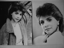 Lot  2 Photos   SANDRA  KIM   Eurovision 1986   Format 18x24cm