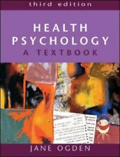 Health Psychology: A Textbook by Ogden, Jane Paperback Book The Cheap Fast Free