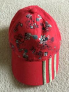 Girl's adidas Disney Minnie Mouse Baseball cap (One Size Fits All): Worn