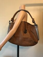 BCBG Maxazria Large HOBO PURSE Leather bucket Satchel Shoulder bag