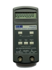 TTi  PFM1300 Hand Held Frequency Counter 5Hz to 1.3Ghz