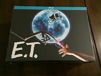 E T EXTRATERRESTRE DELUXE BOX BLURAY + CAMISETA + POSTER + POSTALES NEW SEALED