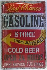 GASOLINE - LAST CHANCE, BLECHSCHILD USA