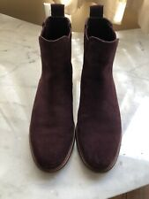Clarks Suede Shoe Boots Size 8