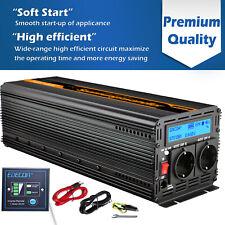 Power Inverter 2500W 5000W 12V 220V 230V Onda sinusoidale pura Convertitore LCD