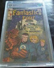 FANTASTIC FOUR #45 (1ST APPEARANCE THE INHUMANS) HUGE KEY ISSUE: GRADED 5.5 NICE