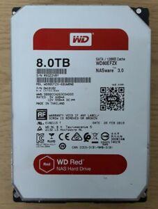 WD Red 8TB 3.5 Inch NAS Internal Hard Drive Storage WD80EFZX NASWARE 3.0