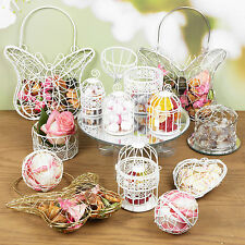 Assorted Wire Metal Mesh Wedding Table Fancy Decor Bridesmaid Baskets Bird Cage